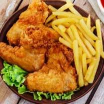 Wings Fries